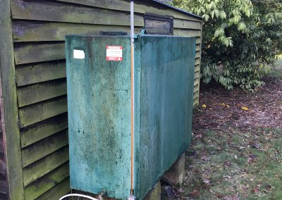 Old Oil Tank needing replacement