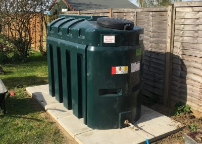 Tank install -Stowmarket after