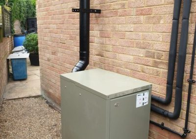 External Grant boiler - new installation
