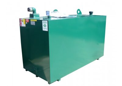 Steel fire rated oil tank